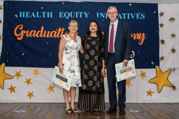 2019_CHW_Training_Ms. Louise Cranefield, Dr. Sharuna Verghis, Mr. Thomas Albrecht