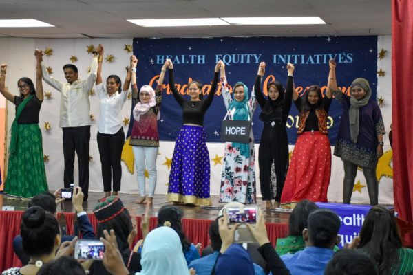2019_CHW_Training_Skit by the HEI Team Mehwish, Sediqa, Asma, Vanessa, Tharisini, Vihir, Shasvini, and Naima